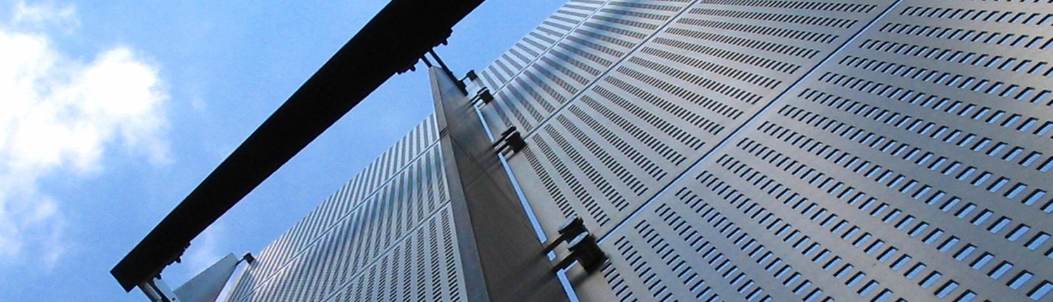 Architectural steel perforation