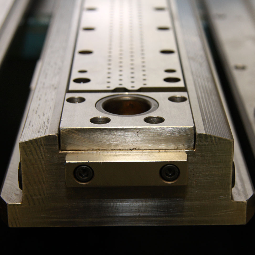 Steel perforating die