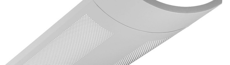Industrial design plastic and metal perforation