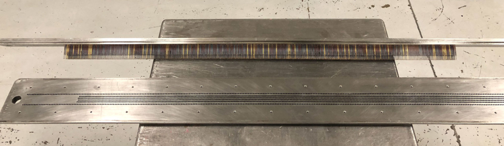 Perforating steel tools