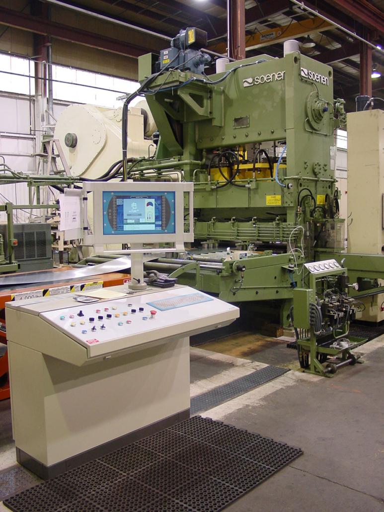 Perforating metal machine